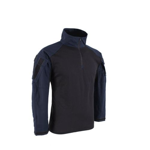 BACRAFT TRN G3 BDU Tactical Combat Long Sleeve Shirt -Police Blue