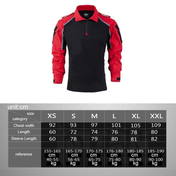 BACRAFT TRN Safety Instructors Tactical Survival Long Sleeve Shirt
