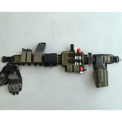 Bigfoot Orion 4.0 Laser Cutting Silicone Tactical Waist Belt Set