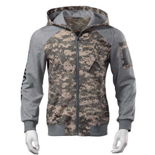 Tactical Hooded Jacket Winter Sweatshirt Outdoor Coat