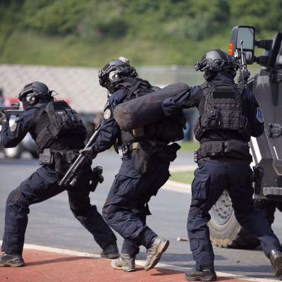 BACRAFT GEN3 BDU Tactical Combat Uniform Suit -Police Blue