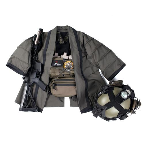BACRAFT TRN Tactical Combat Cloak Coat Jacket