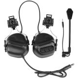 WST Gen.5 Tactical PICKUP NOISE REDUCTION Headset -Helmet Type