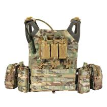 Yakeda JPC Upgrade Tactical Plate Carrier Vest with 2L Water Storage Bladder Bag -Camoflage