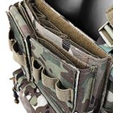 Krydex MK3 Tactical Chest Rig Modulal Military Vest Accessories -MC