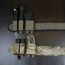 Bigfoot Orion 4.0 Laser Cut Silicone Tactical Waist Belt with Mag Pouch