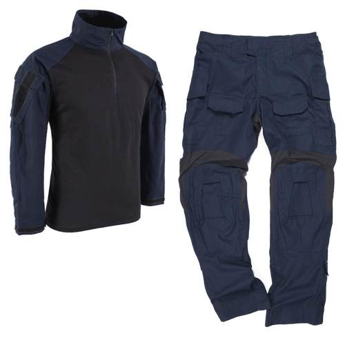 BACRAFT TRN GEN3 BDU Tactical Combat Uniform Suit -Police Blue