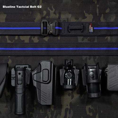 2020 UTA Thin Blue Line Belt Universal Quick Reverse UA Armoured Tactical Belt