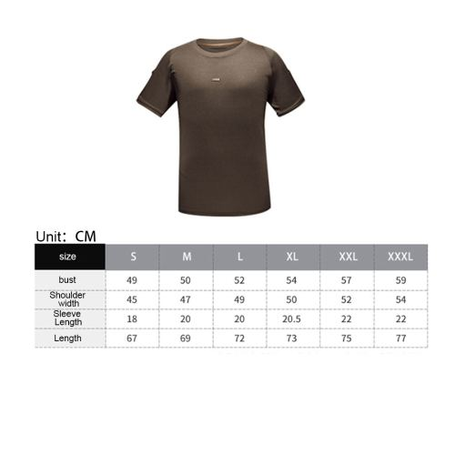 Idogear Tactical Shirt Short Sleeve Fast Dry T-Shirt