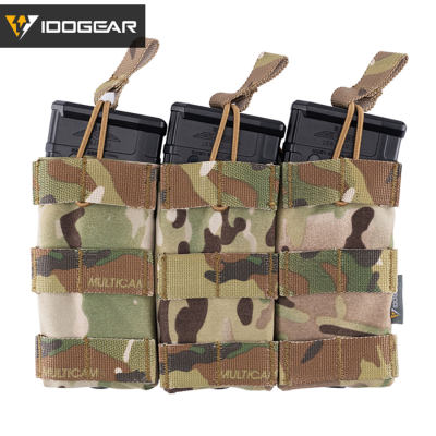Idogear Tactical Triple Mag Pouch 556 Molle Magazine Pouch