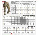 Idogear G3 Tactical Combat Pants with Knee Pads