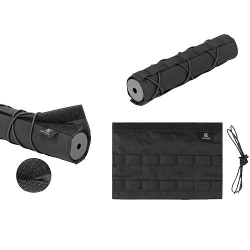 Krydex 22cm Muffler Tactical Hunting Suppressor Tactical Silencer Cover