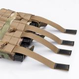 IDOGEAR Tactical MOLLE Triple 556 Mag Pouch