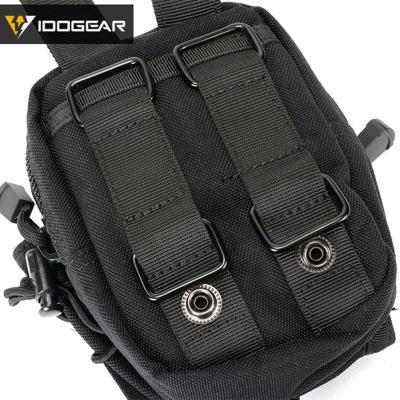 Idogear Tactical Detective Waist Bag Pack Mobile Phone Bag