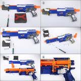 Worker 5KG Modification Upgraded Spring Kit for Nerf Zombie Strike SlingFire Alpha Trooper