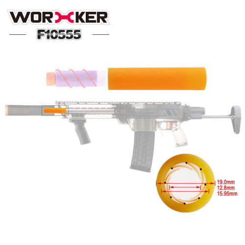 WORKER No.223 80mm/ 120mm Light Curing 8 Lines/ 12Lines Barrel for Worker Accurate Barrels