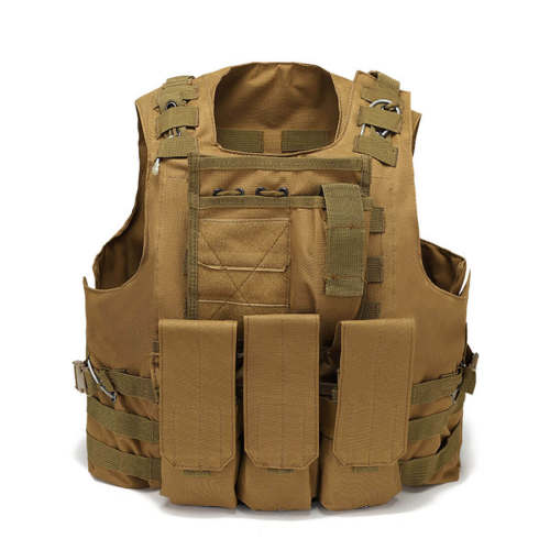 Multi-function FSBE Outdoor Tactical Stab-resistant Vest for Nerf CS Defense