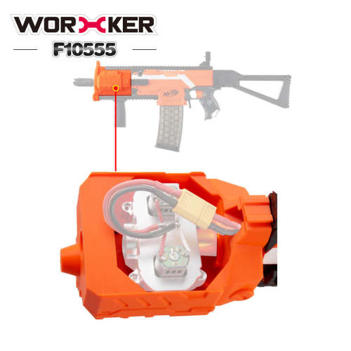 Worker No.218 Barrel Flywheel Cage Kit for Nerf Stryfe Worker Swordfish