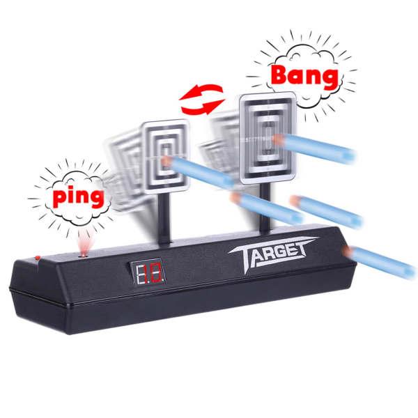 Electronic Scoring Auto Reset Shooting Digital Target for Water Gels Blaster Foam Darts Blaster