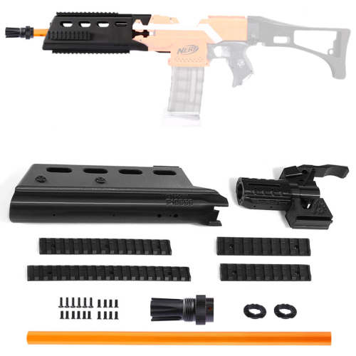 Worker f10555 3D Printing G362.0 Long Type Barrel Kit for Nerf Stryfe / Worker Swordfish