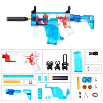 Worker Swordfish Semi-automatic Short Sword Shape Foam Darts Blaster