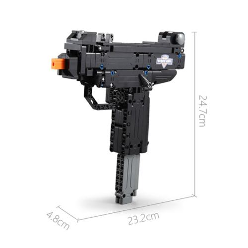 359Pcs Pistol Model Building Blocks Toys for Children