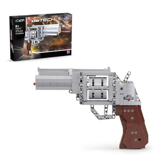 475Pcs 1:1 Revolver Model Building Blocks Toy for Children