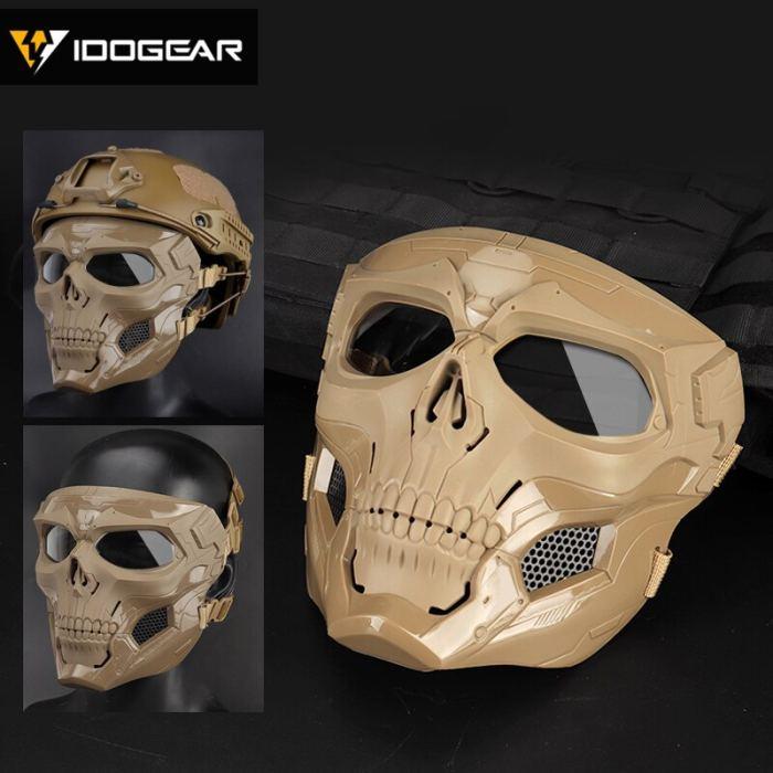IDOGEAR Tactical Ful Face Skull Mask