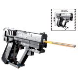 364Pcs Sci-Fi Blaster Model Bulidng Block Toys for Children