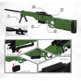 885Pcs AWM Sniper Model Building Block Toys for Children