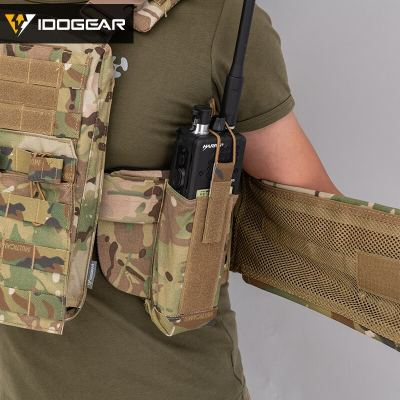 IDOGEAR Tactical Military Army CPC Molle Cherry Plate Carrier Vest