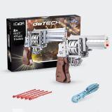 475Pcs 1:1 Revolver Model Building Blocks Toy for Children