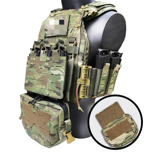 UTA Cordura Tactical Shoulder Bag for Airsoft Outdoor Battle Pouch- MC