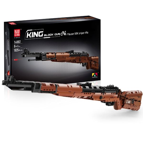 1025Pcs 98K Sniper Rifle Blaster Model Building Block Toys for Children