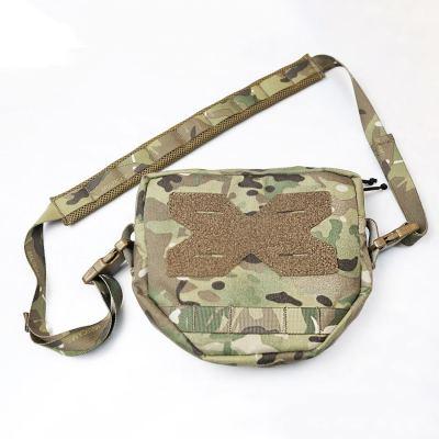 UTA Cordura Tactical Shoulder Bag for Airsoft Outdoor Battle Pouch- MC