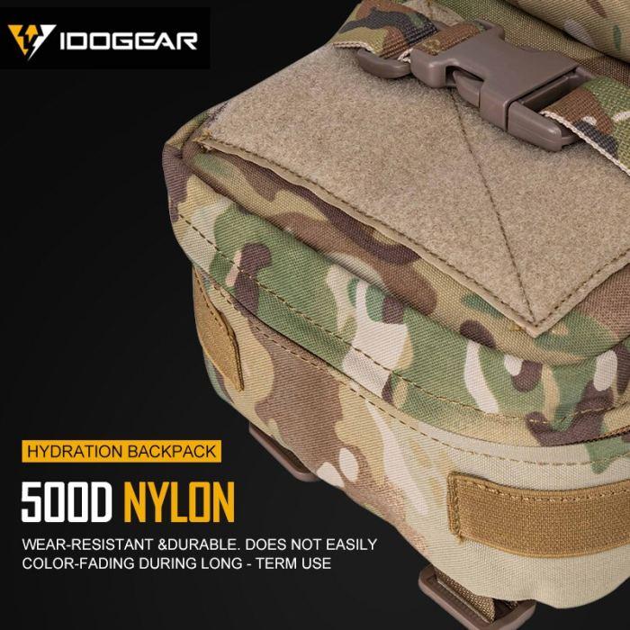 IDOGEAR Tactical Mini Hydration Backpack Bag Assault Molle Pouch