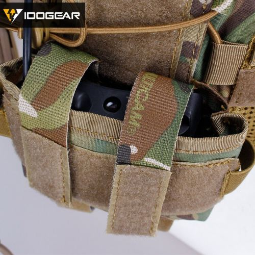 IDOGEAR Tactical MK2 Battery Case Pouch for Helmet