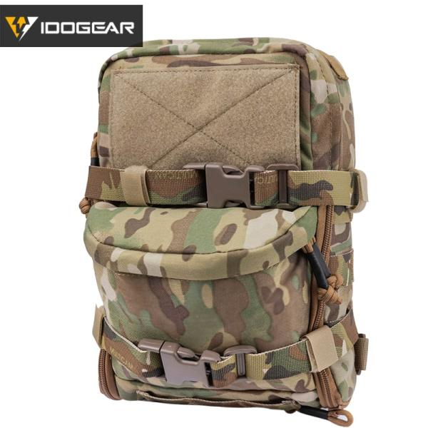 IDOGEAR Tactical Mini Hydration Backpack Bag Assault Molle Pouch