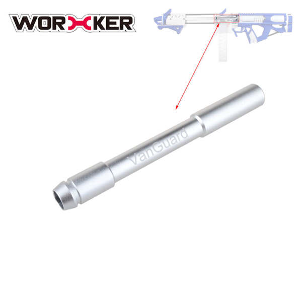 Air Seal Nozzle for Worker Caliburn VanGuard - Silver