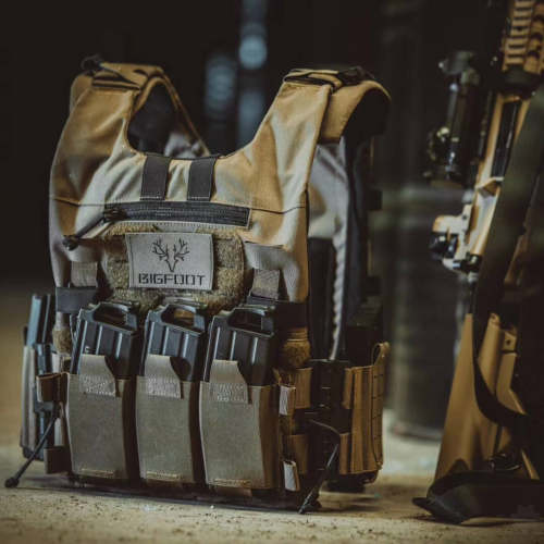 Bigfoot GTPC 2.0 Plate Carrier Quick Release MOLLE Tactical Vest