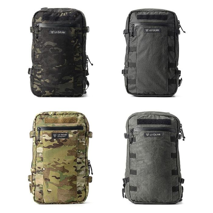 Lii Gear Peach 10L Outdoor Hiking Climbing Hunting Bag Tactical Backpack