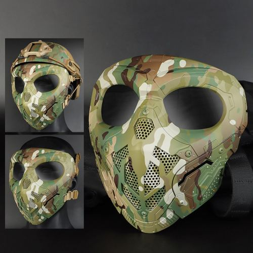 WST Halloween Tactical Skull Mask for Outdoor Shooting Airsoft