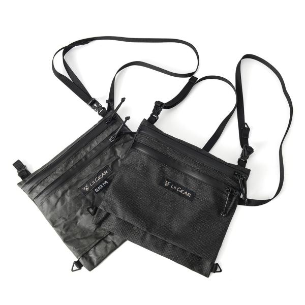 Lii Gear Musette X EDC Techwear Bag Outdoor Lightweight Single Shoulder Bag Tactical Molle Chest Bag