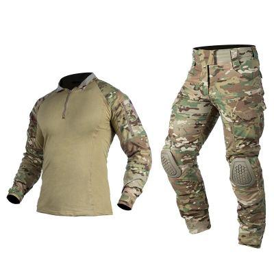 IDOGEAR G4 Tactical Combat Uniform Outdoor Hunting Airsoft Tactical Clothes