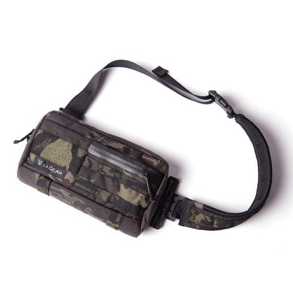 Lii Gear Mr Control Techwear Bag Universal Single Shoulder Bag Tactical Hunting Chest Bag Waist Pouch