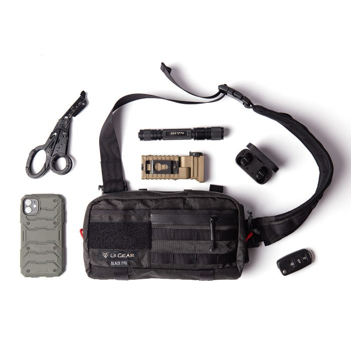 Lii Gear Mr Control Universal Single Shoulder Bag Tactical Hunting Chest Bag Waist Pouch