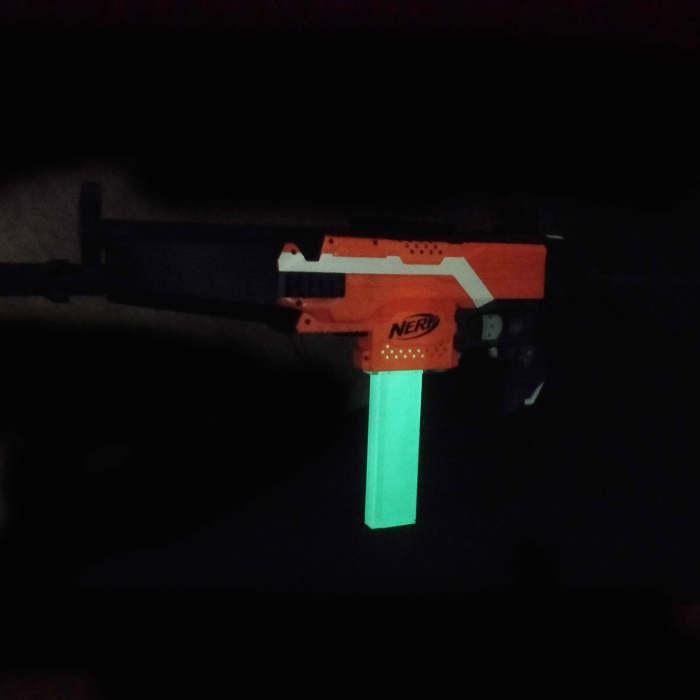 Worker 15Darts Fluorescence Narrow Mags for Worker Talon/Dragon Claw /Adventure Force Nexus Pro