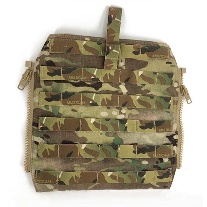 CP 500D CORDURA JPC2.0 Molle Backpack Zip On Panel 1.0 JPC Jasmine Tactical Vest Accessories- Multicam
