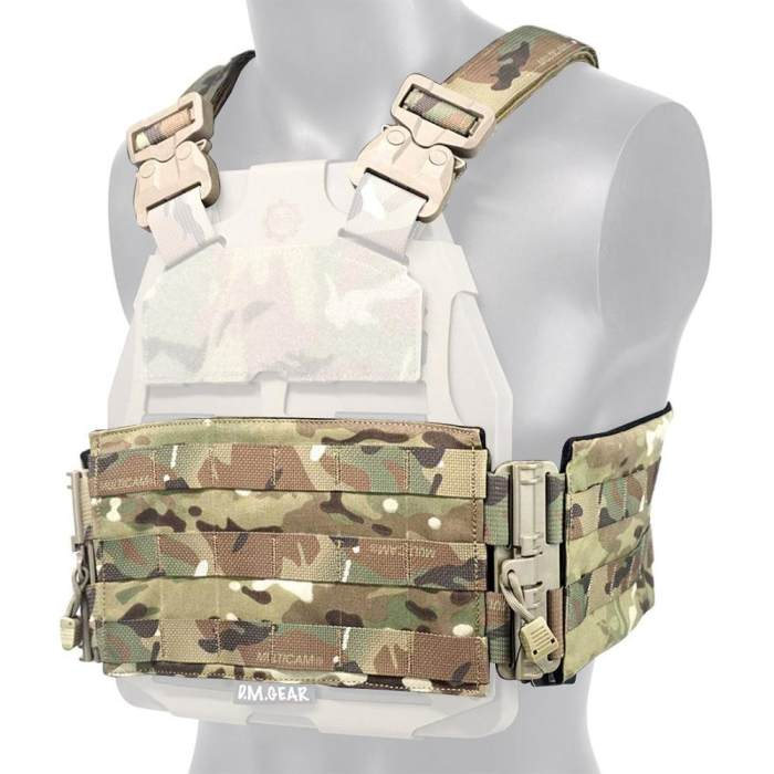 DMGear S&S Plate Frame Quick Release Assembly Set Molle Kit