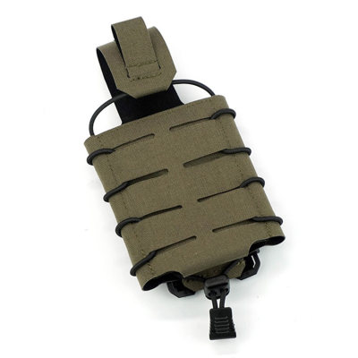 DMGear Laser Cutting Universal 556 762 Quick Release Mag Pouch Tactical Hunting Molle Pouch